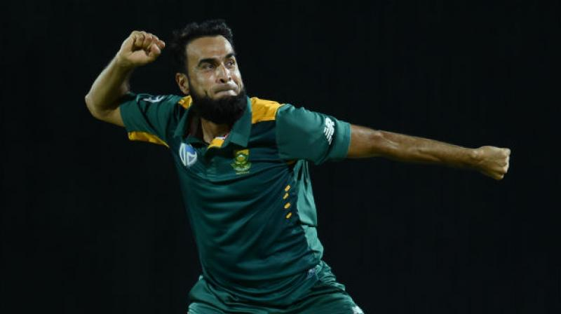Tahir, who is currently ranked number one in ODI cricket, took to his official Twitter account to acknowledge the public for the support they had put in him. (Photo: AFP)