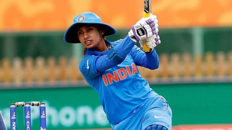 Mithali's knock, her 11th T20 International half century, came from 48 deliveries and she hit six fours, one six and carried her bat through the innings. (Photo: PTI)