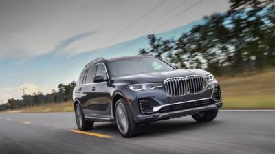 BMW is offering the X7 in two variants - one petrol and one diesel.