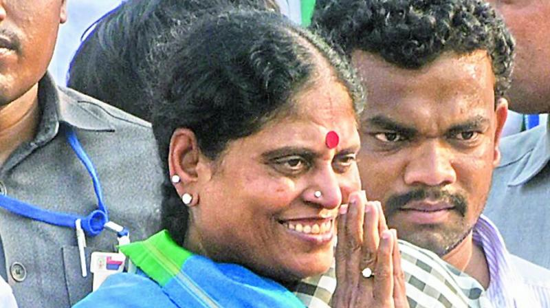 Three women empower Jagan Mohan Reddy's campaign