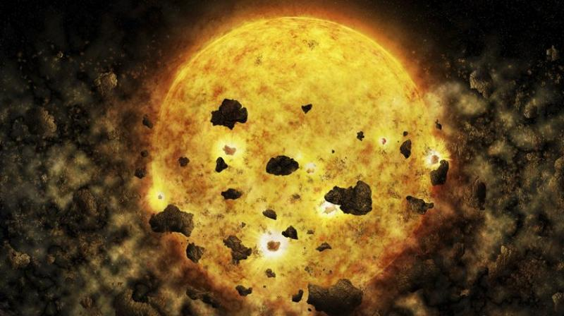 Scientists have found a star,