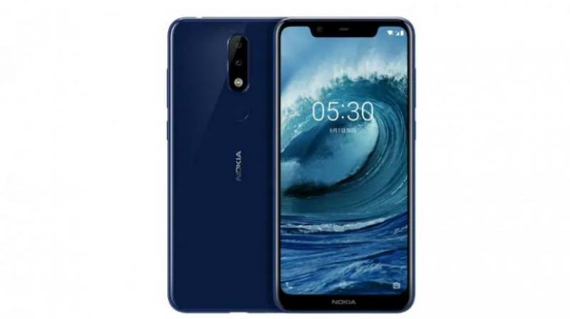 The Nokia 5.1 will be the global variant of the Nokia X5.