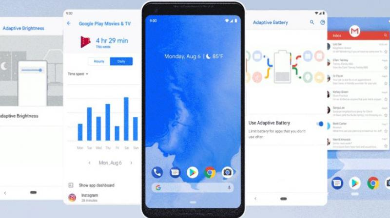 In Android 9, Google has introduced a new system navigation featuring a single home button.