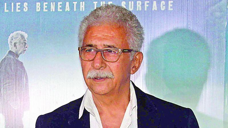 Actor Naseeruddin Shah said the 'poison has already spread' and it will be now difficult to contain it. (Photo: File)