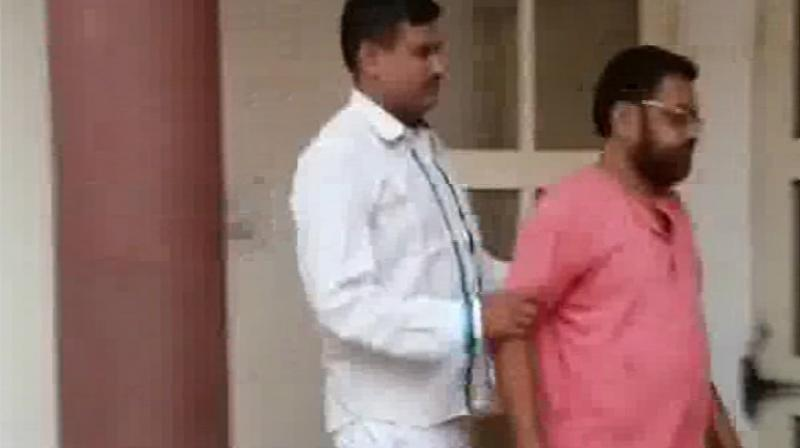 Police has filed a case against Haryana priest, Baba Amarpuri and have started an investigation. (Photo: Twitter | ANI)