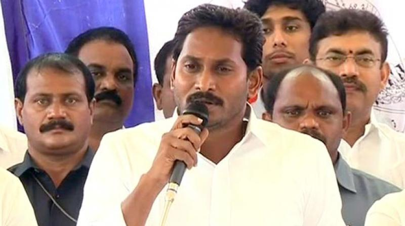 The meeting assumes importance as the YSRCP chief during the election campaign had said his party would support whoever promises Andhra Pradesh the Special Category Status. (Photo: File)