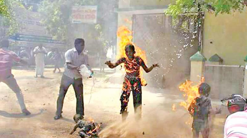 Harassment Drives Family To Self Immolation 3 Killed In