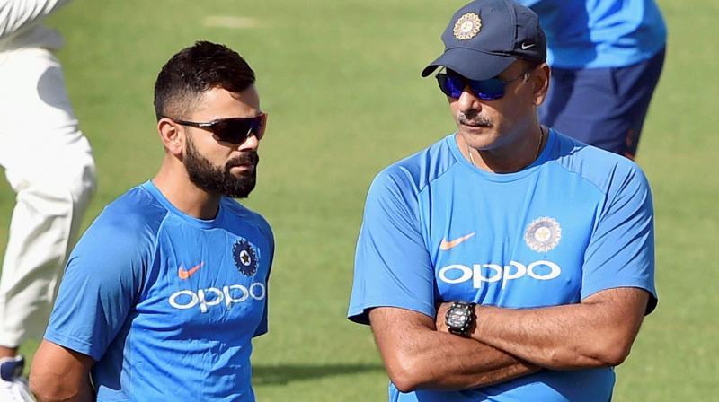 Virat Kohli-led India will aim for another Test series win as the three-match series versus Sri Lanka kicks off on November 16. (Photo: PTI)