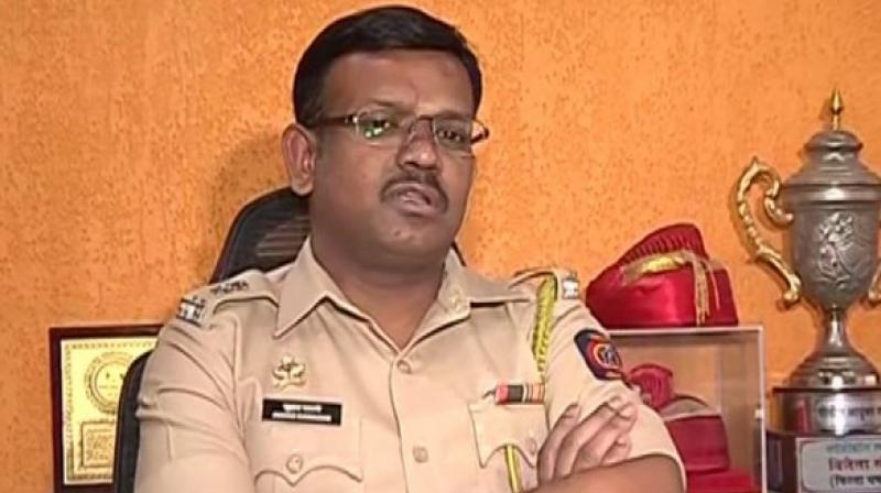 'One of the accused Stan Swamy, who is the resident of Ranchi, his home was searched. Police have recovered some documents and electronic materials,' said Deputy Commissioner of Police, Suhas Bawche. (Photo: ANI)