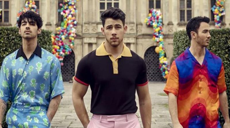 The Jonas Brothers - Nick Jonas, Kevin Jonas and Joe Jonas. (Photo: Instagram)