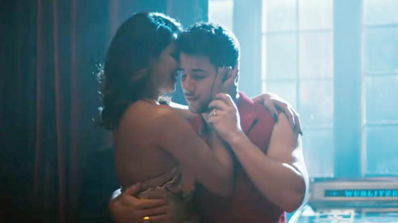 Nick Jonas and Priyanka Chopra. (Courtesy: YouTube/ Jonas Brothers)