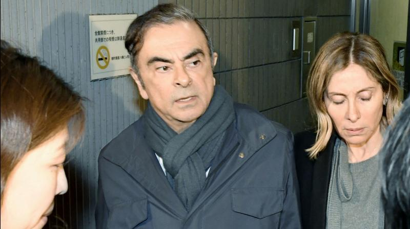 Some of the money is believed to have been used to buy a luxury boat allegedly used by Ghosn and his family. (Photo:AP)
