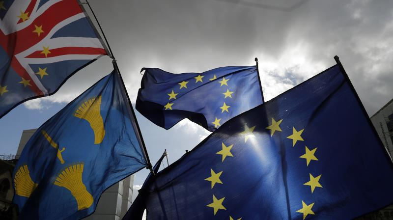 As Britain faces the risk of an abrupt split from the bloc as soon as next week, EU states put pressure on the parliament this week to approve the file. (Photo:AP)
