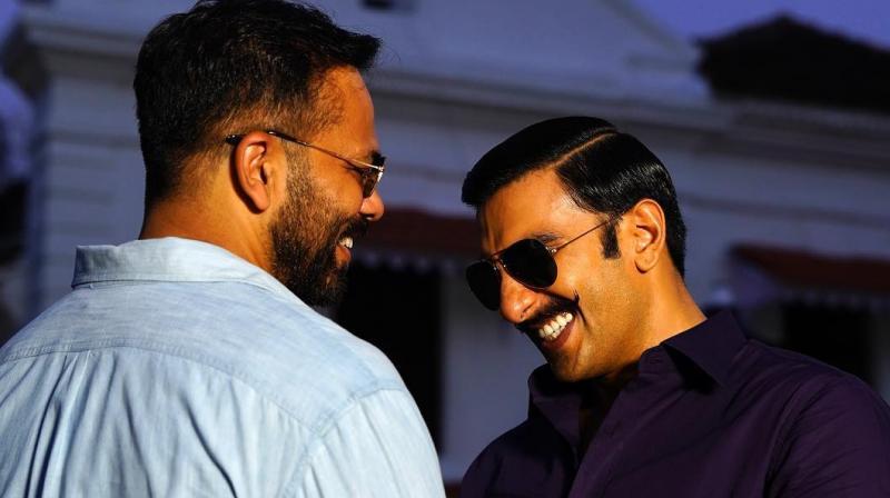 Rohit Shetty and Ranveer Singh.