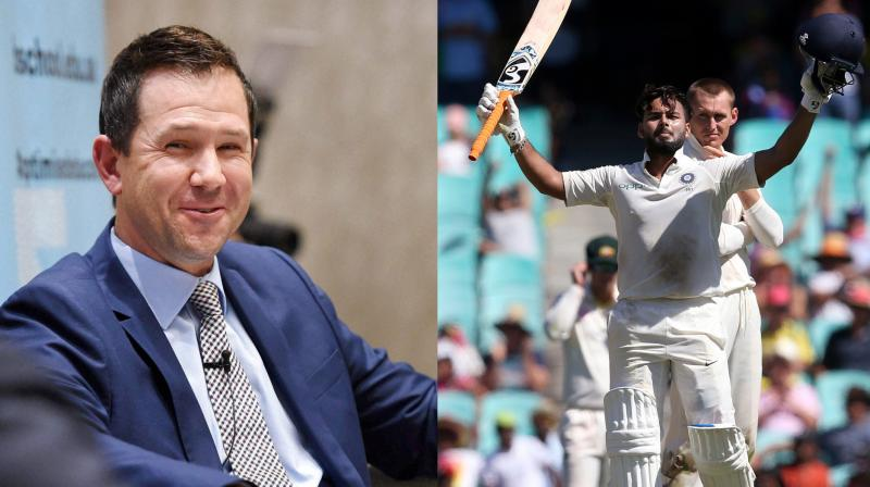 Former Australia skipper Ricky Ponting praised young wicketkeeper-batsman Rishabh Pant, so much so that he called him