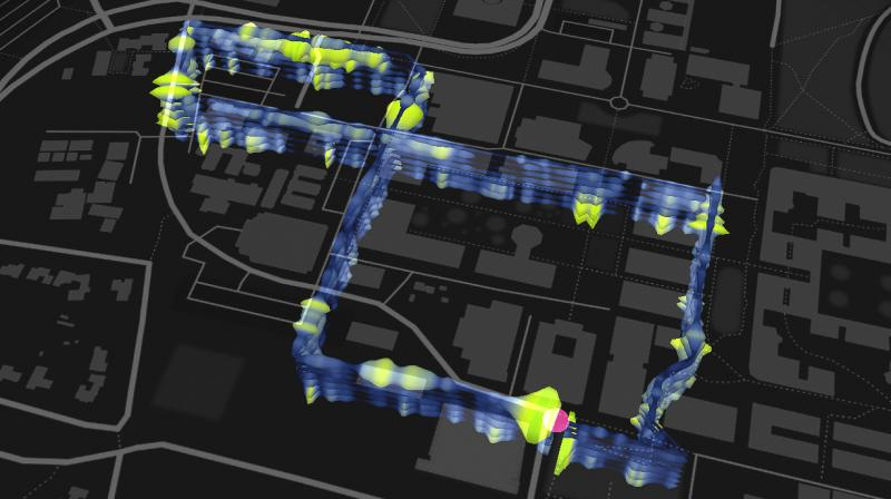 Scientists have been testing the technology since 2016 in an optical fibre cable network laid beneath Stanford's campus in a 3-mile figure-8 loop.  (Photo: Stanford News)