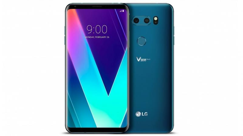 LG take the wraps off their updated flagship, the V30S ThinQ