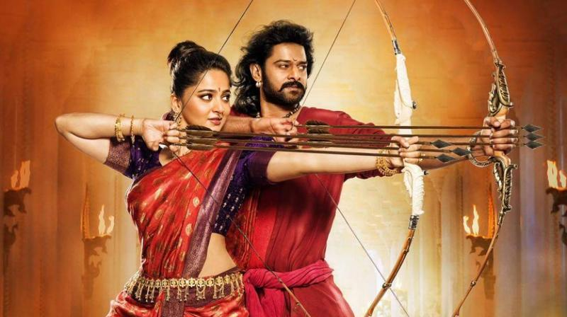 The poster starring Prabhas and Anushka Shetty was shared on Twitter.