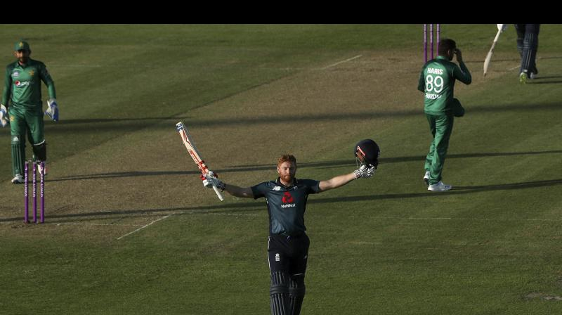 In the third ODI at Bristol, Pakistan scored 358 for 9 but the hosts chased down the target inside 45 overs. (Photo: AP)