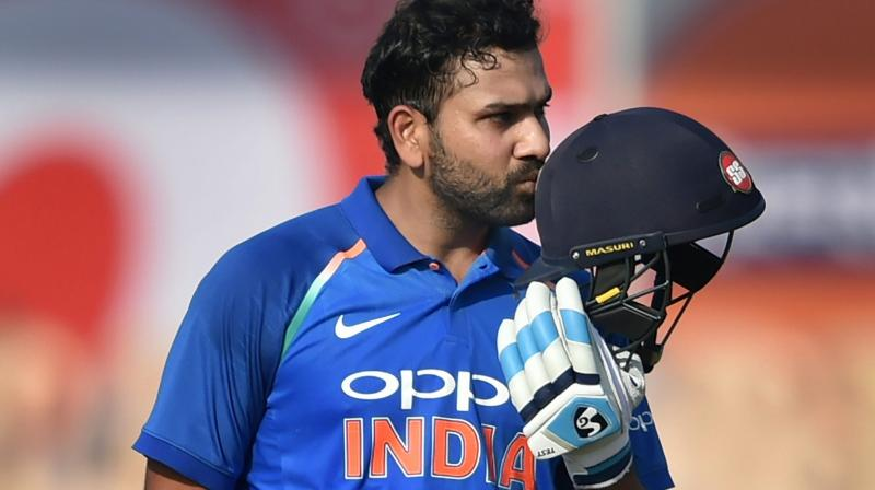 Rohit Sharma is the only player in the world to score three double centuries in ODIs (Photo: PTI)