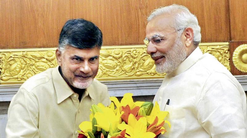 TD merges with BJP, Naidu finalises deal