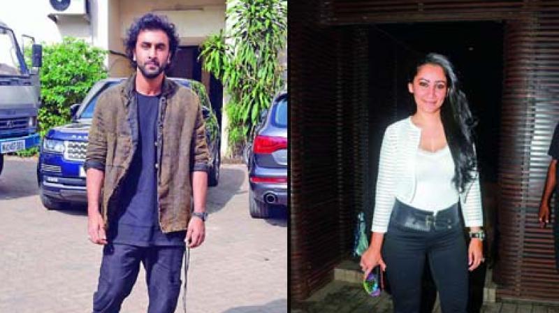 Ranbir Kapoor and Manayata Dutt