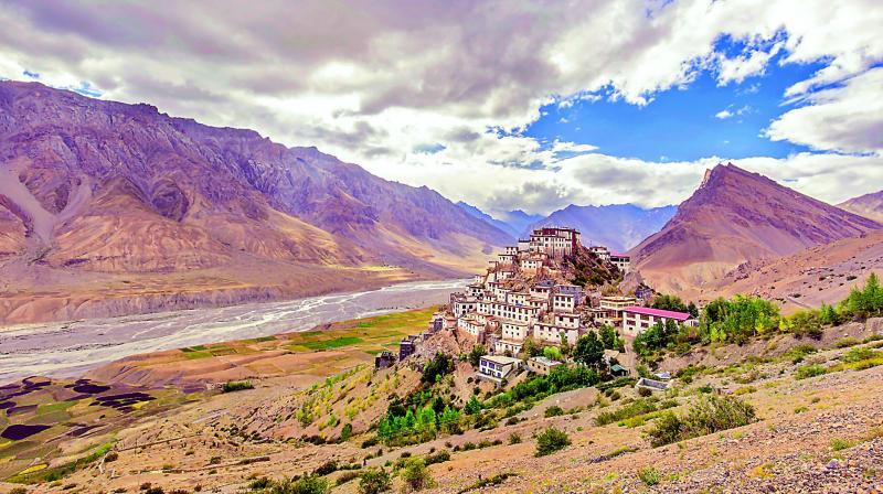 The Key Monastery.