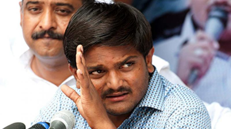 A senior CISF official said that there is a potential threat to security of Hardik Patel. (Photo: File)