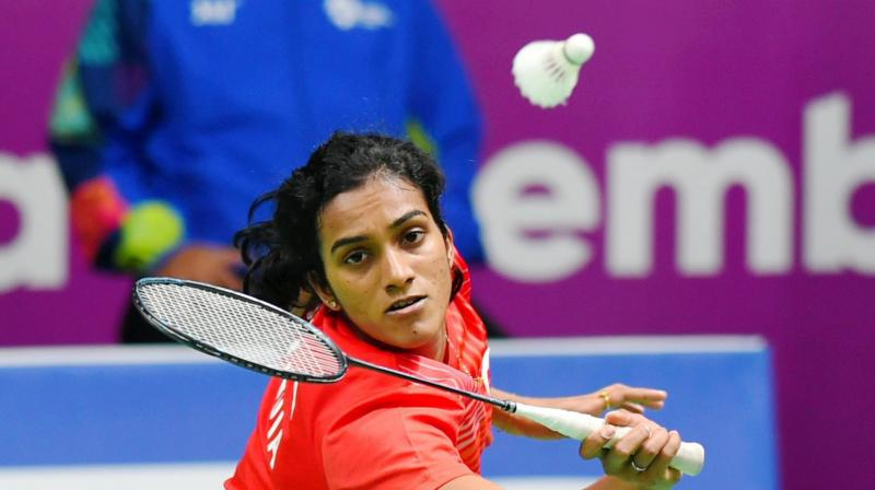 A profligate PV Sindhu was Wednesday knocked out of the All England Championship by an industrious Sung Ji Hyun of Korea in the women's singles opening round. (Photo: PTI)