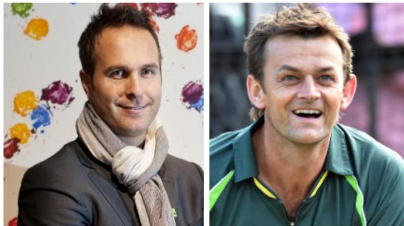 Seeing Michael Vaughan's tweet, Australia's legendary wicket-keeper batsman Adam Gilchrist stated Vaughan as an 'idiot'. (Photo:AFP)