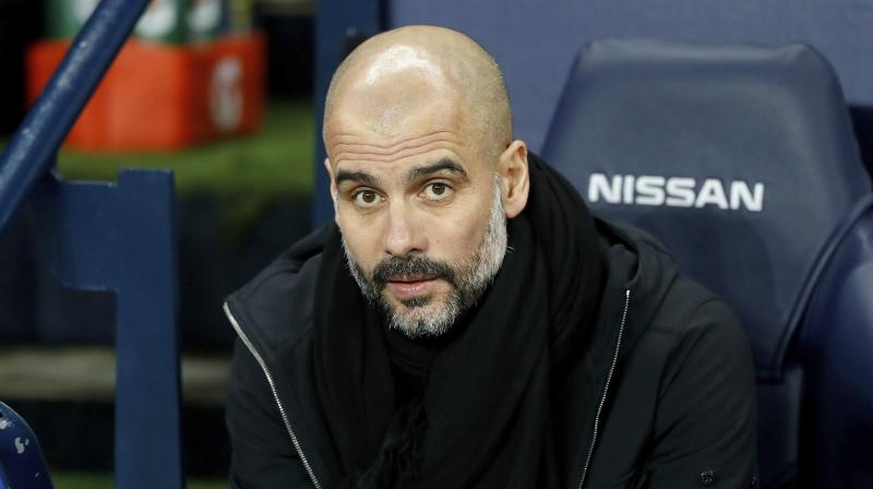 Guardiola topped the vote ahead of Jurgen Klopp, Tottenham manager Mauricio Pochettino, who has led Spurs to their first ever Champions League final, and Nuno Espirito Santo of Wolves, who finished seventh in their first season back in the top flight. (Photo: AFP)