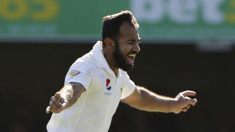 Wahab Riaz is all set to follow the footsteps of teammate Mohammad Amir and retire from test cricket in order to have more time for shorter formats. (Photo: AP)