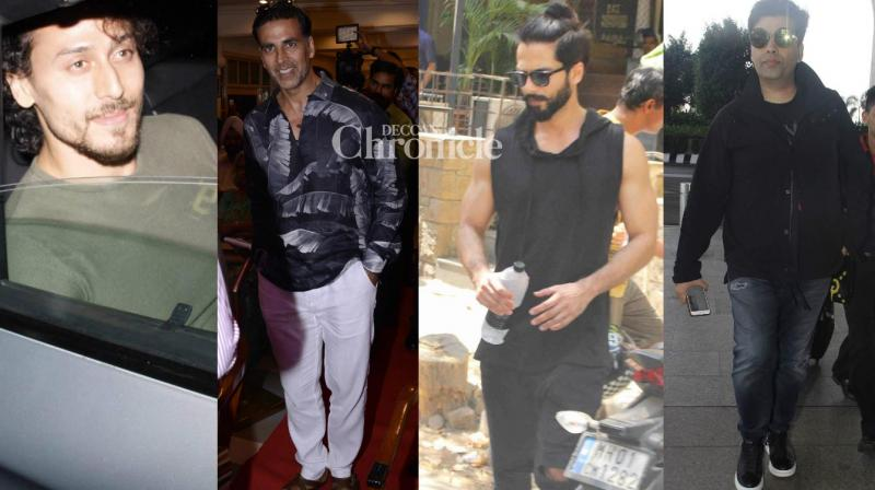 Bollywood stars stepped out for their professional and personal commitments on Wednesday. (Photo: Viral Bhayani)