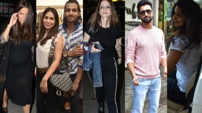 Numerous Bollywood stars made it to the paparazzi diary of the day in Mumbai on Monday. (Photos: Viral Bhayani)