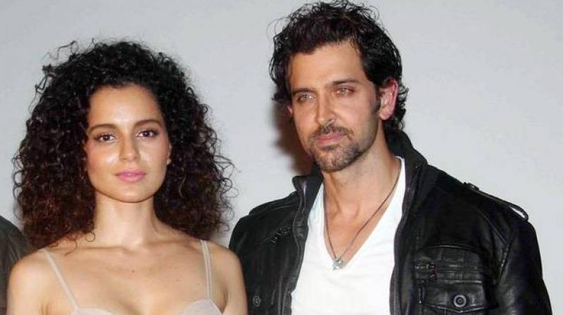 Hrithik had taken to his social media feed to call the actress out.