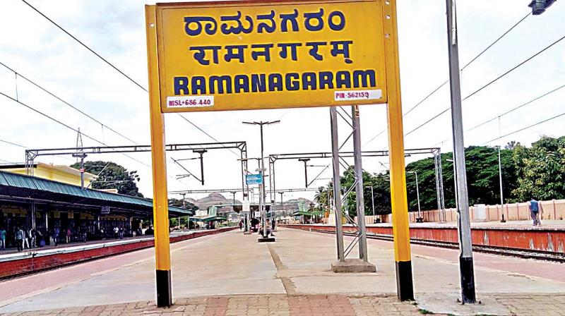 Everyone knows about  Sholay and it's time for the new generation to realise that it was shot in Namma Ramanagara, said a senior railway official.