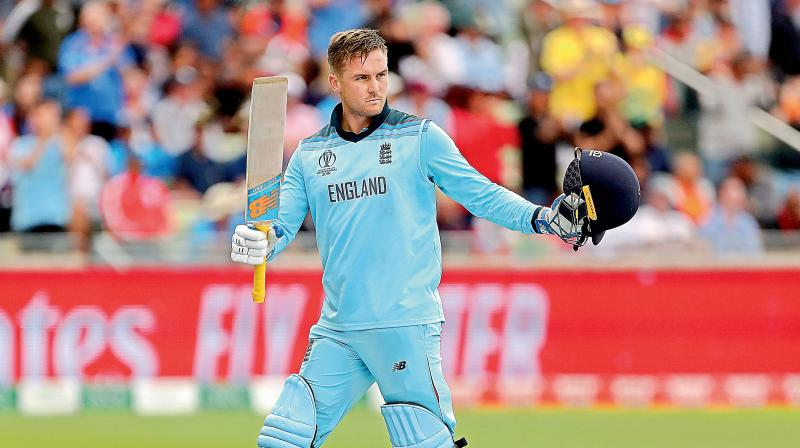 The 29-year-old Jason Roy is no red-ball novice, having played for county champions Surrey, but mainly as a middle order batsman, and he has nine first-class hundreds to his credit.  He comes into the Test set-up ahead of an Ashes series fresh from scoring 443 runs as an opener in England's triumphant World Cup campaign. (Photo:AP)