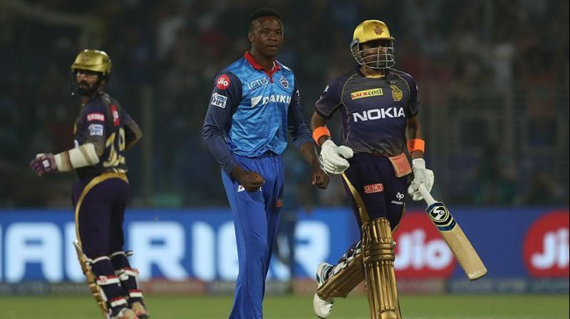 Rabada helped Delhi Capitals defend the lowest total in a Super Over in IPL history as they won by three runs after both teams ended up scoring 185 in the allotted 20 overs each. (Photo: BCCI)