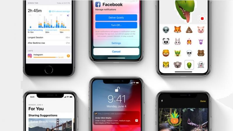Image result for apple ios 12 beta