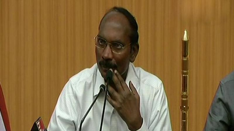 ISRO Chief K Sivan said, Chandrayaan 2 in 2019 . 50 satellites to be launched in next 3 years. (Photo: ANI)