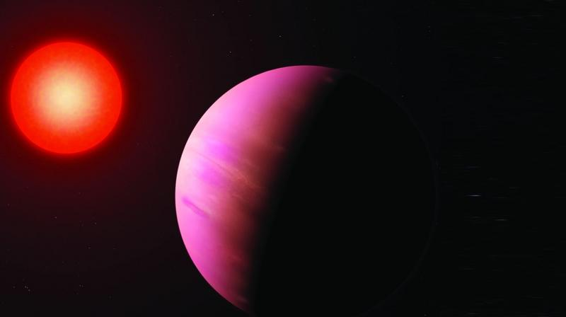 The star and its planet could provide valuable information on how planetary bodies form.