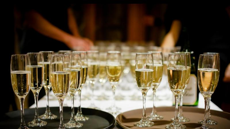 The study found that the bubbles in more expensive, fine sparkling wines are smaller and therefore make the wines taste better quality. (Photo: Pixabay)