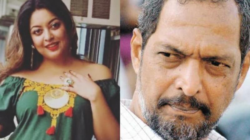 Tanushree Dutta and Nana Patekar.
