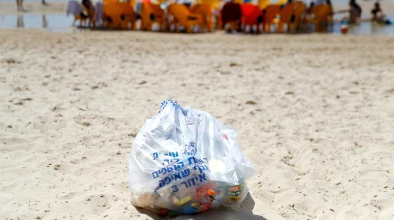 In 2005, Israel's environmental protection ministry launched a programme offering local councils incentives for proven results in cleaning their beaches. (Photo: AFP)