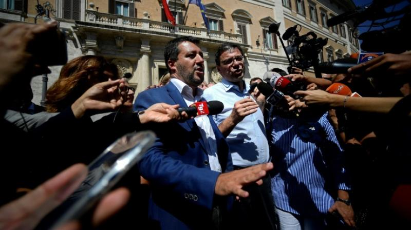 Interior Minister Matteo Salvini tried to force a snap election. (Photo: AFP)