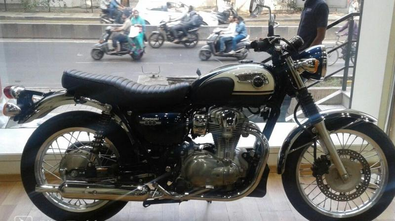 Kawasaki To Launch W800 Next Month
