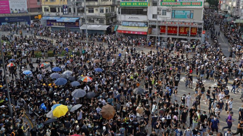 China demands Britain to stop 'meddling' in Hong Kong