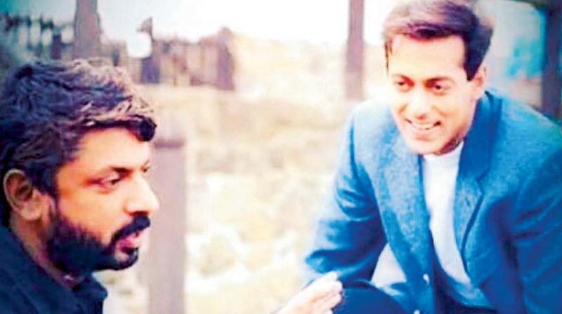 Sanjay Leela Bhansali and Salman Khan.