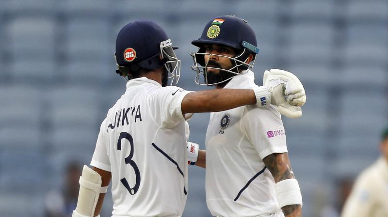Back in 2016, the duo displayed a somewhat similar performance as they formed a 365-run partnership against New Zealand. (Photo: AP)