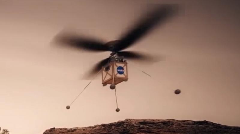 Картинки по запросу Mars Helicopter Scout